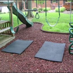 Rubber matten Rubberloods