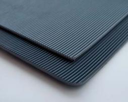 Rubber matten Feniks Black/Grey (hoogspanningsloper)