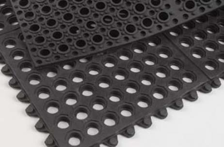 Rubber mattenRingmat schakelbaar